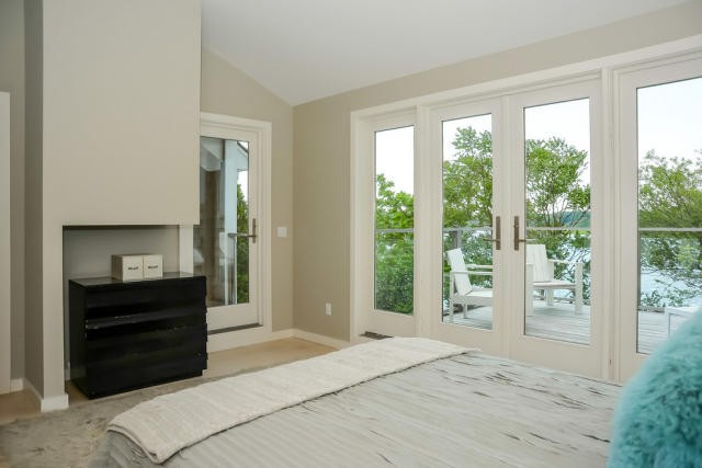 Bed And View Deck And View This Charming Long Island Beach House