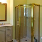 silk room bathroom, stand up shower