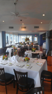 Here is a shot of the interior of the restaurant, every table has a water view.