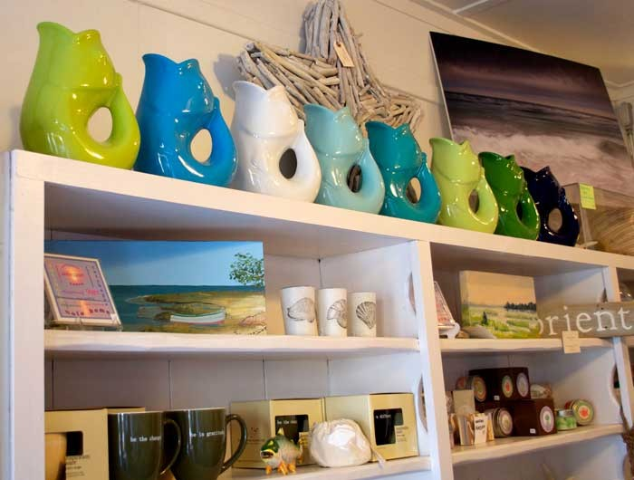 Even though it's a small store, Coast is packed with items that will make you reminisce about your days by the shore.
