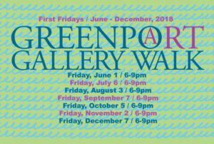 Greenport gallery walk 2018