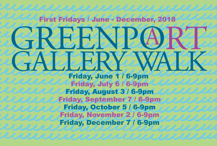 Greenport gallery walk 2018